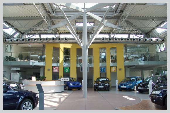 Dalla Pria concessionaria Volkswagen, Audi - Vicenza
